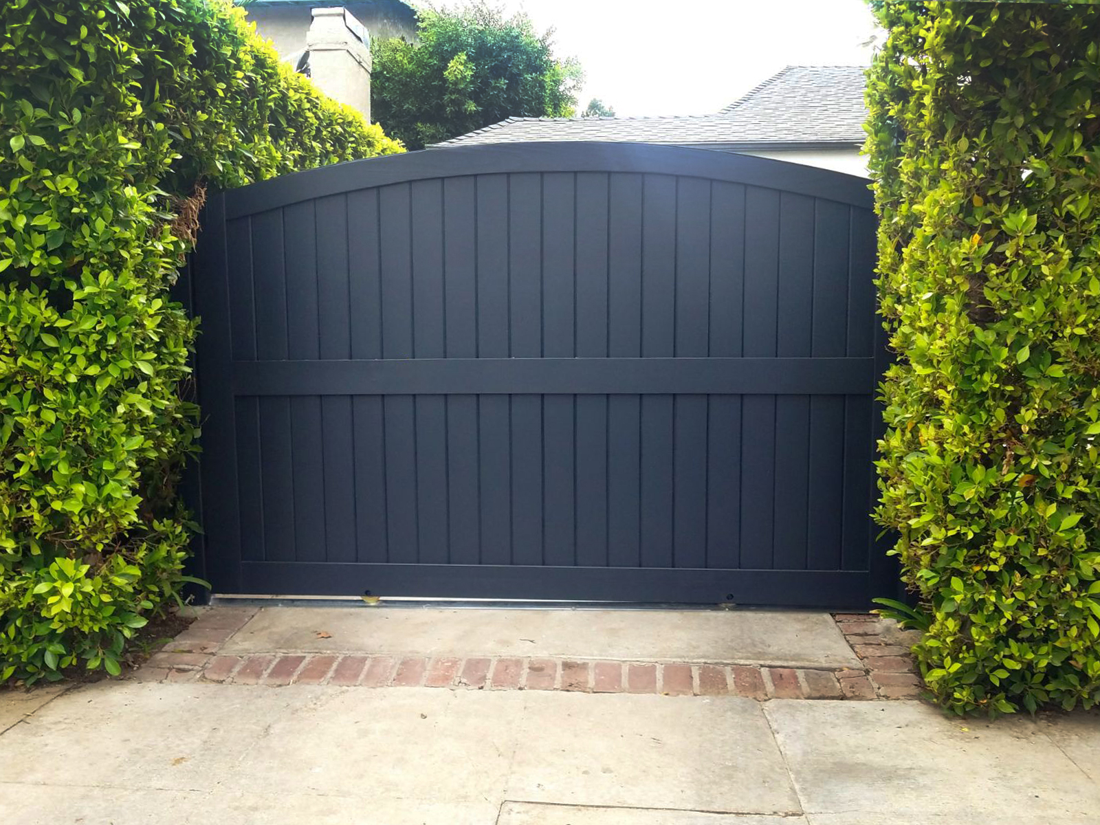 Arched Top Automatic Slide Entry Driveway Amp Security Gates