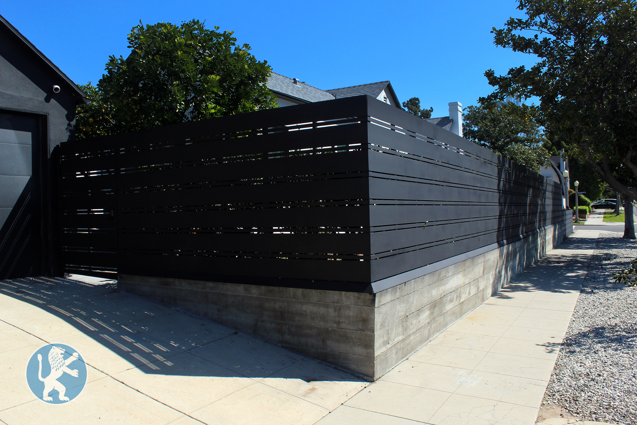 New Hampshire Black Iron Fencing 9733 Ftw Perfect Garage