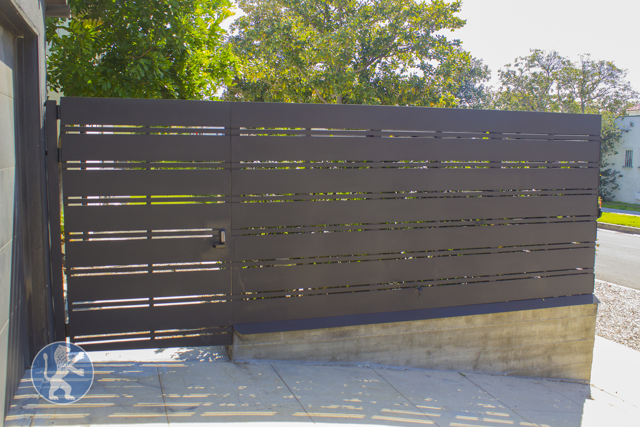 New Hampshire Black Iron Fencing 9741 Ftw Perfect Garage
