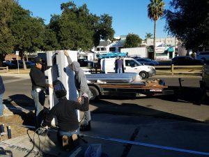 studio city driveway gate installation